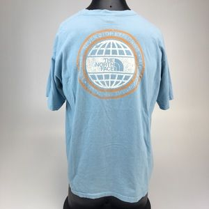 VTG The North Face never stop T-shirt